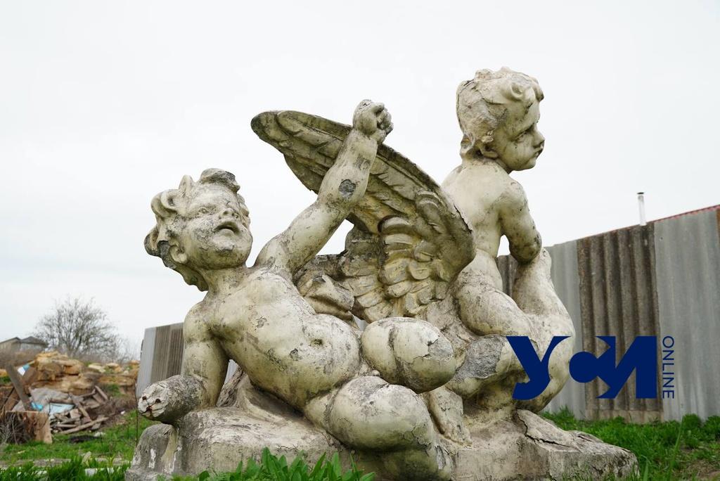 Фрагменты никто не крал: скульптуры с Оперного продолжают реставрировать (фото) «фото»