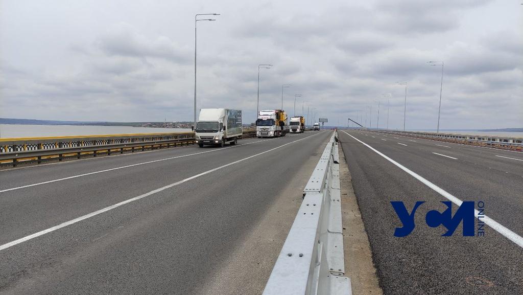 На трассе Одесса — Киев наконец-то открыли Хаджибейский мост (фото, аудио) «фото»