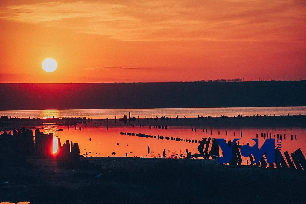 Завораживающий закат на Куяльнике (фото) «фото»
