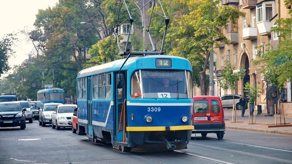 Трамвай №12 изменит движение во время ремонта Преображенской (схема) «фото»