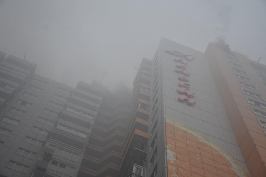 Утром в ЖК «Апельсин» на Среднефонтанской произошел пожар (видео) «фото»