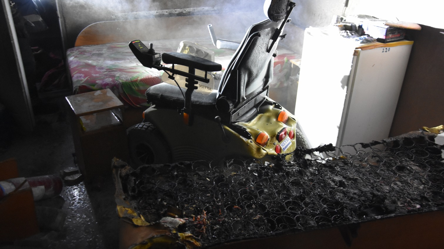 Ночью горел корпус «Куяльника» – пострадал мужчина с инвалидностью (фото) «фото»
