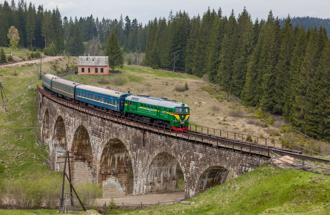 Из Одессы снова можно уехать в Карпаты на поезде «фото»