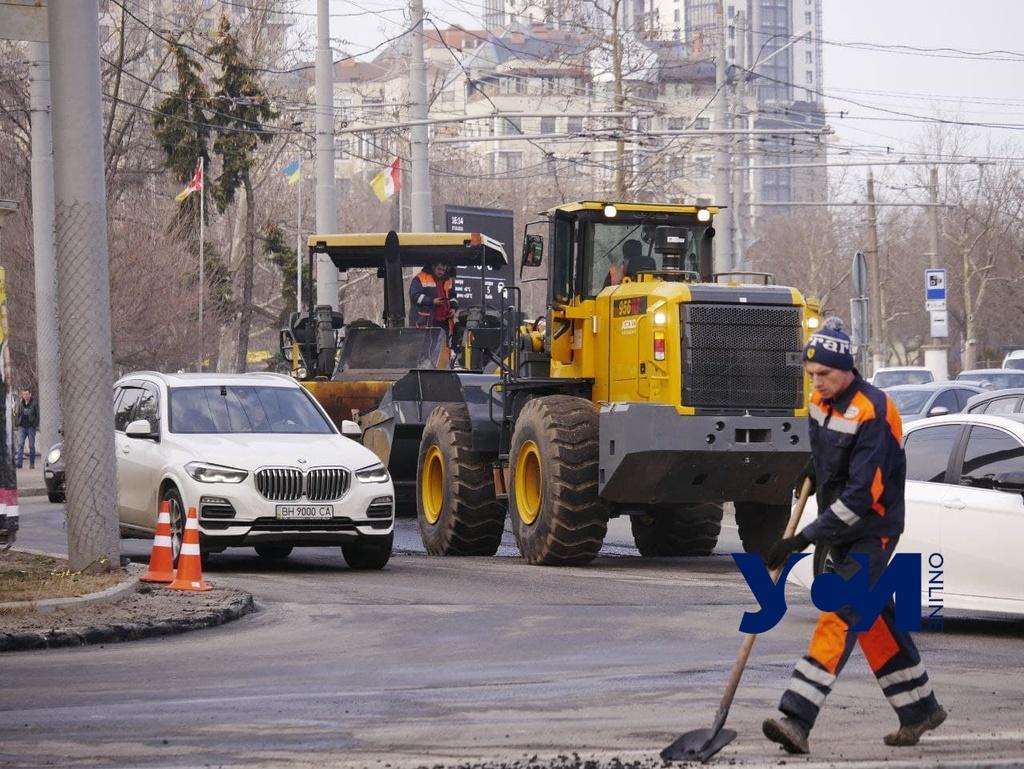 Где в Одессе в среду будет ремонт дорог (список) «фото»