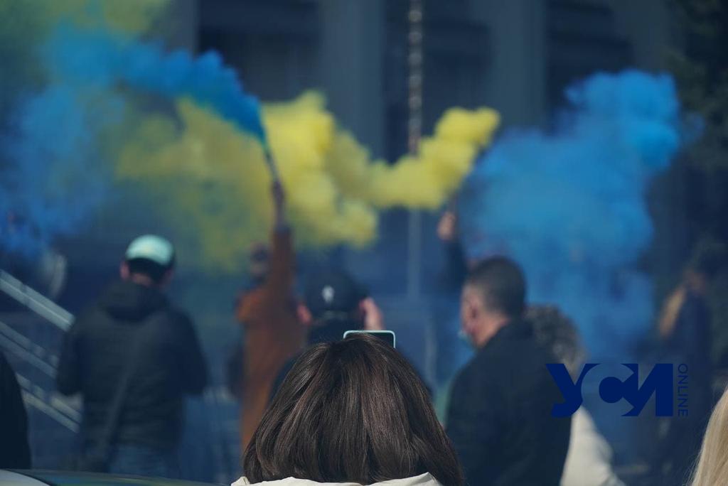 Протестующие предприниматели передали требования в ОГА (фото, видео) «фото»