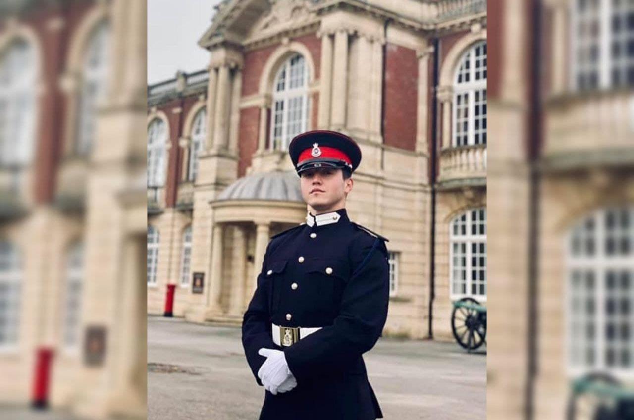 Одесский курсант стал выпускником Королевской военной академии (фото) «фото»