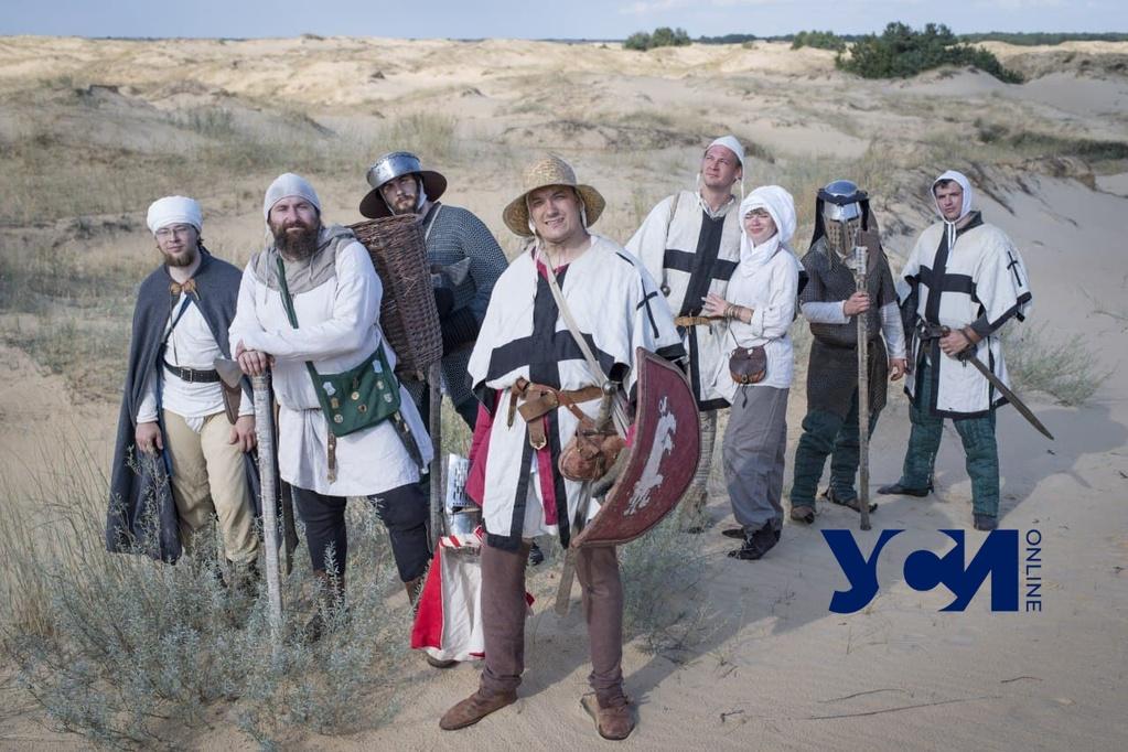 Реконструкция: одесские крестоносцы XIII века в песках Палестины (фото, видео) «фото»