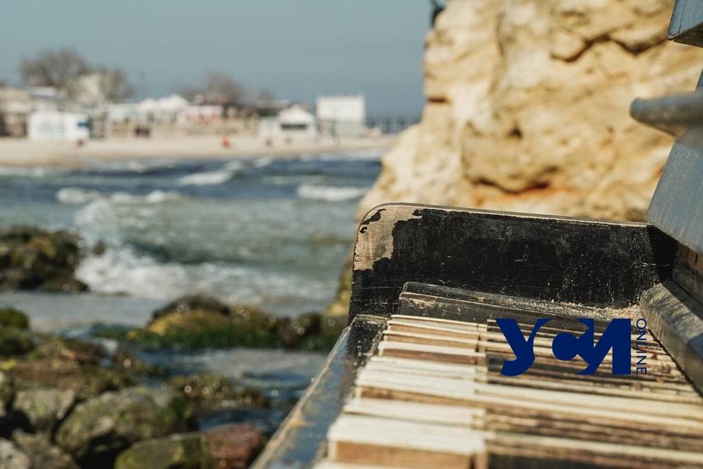 Почти май: яркое солнце зовет на пляжи Одессы (фото) «фото»