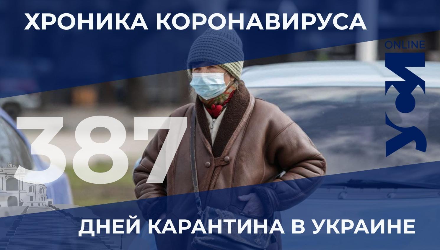 Новый антирекорд COVID-19: в Одесской области – 1608 новых больных «фото»