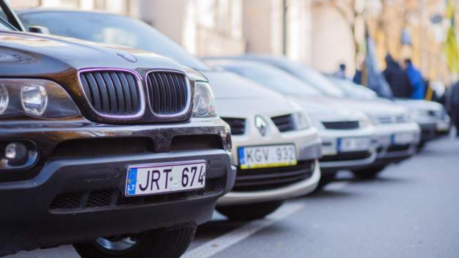 В Украине на время упростили растаможку «евроблях» «фото»