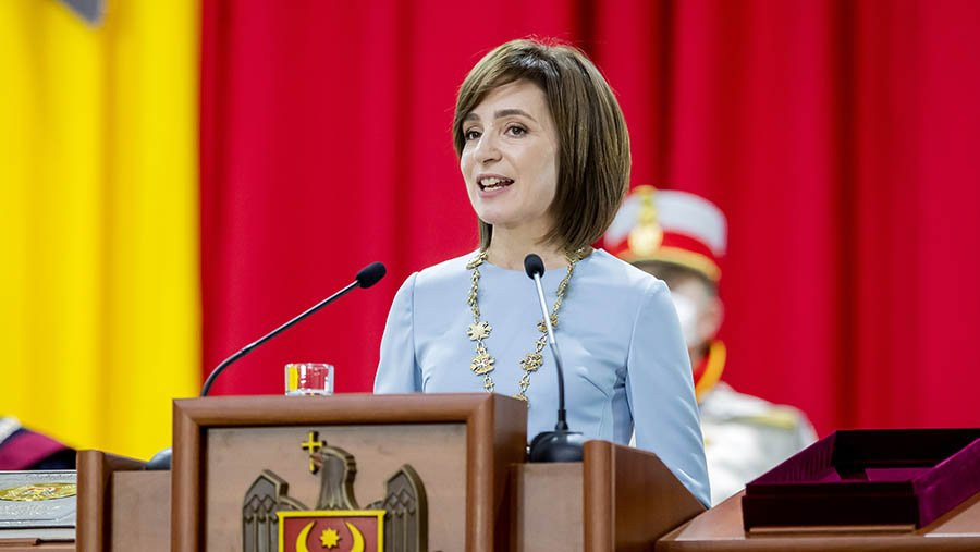 В соседней Молдове президент распустила парламент и назначила выборы «фото»