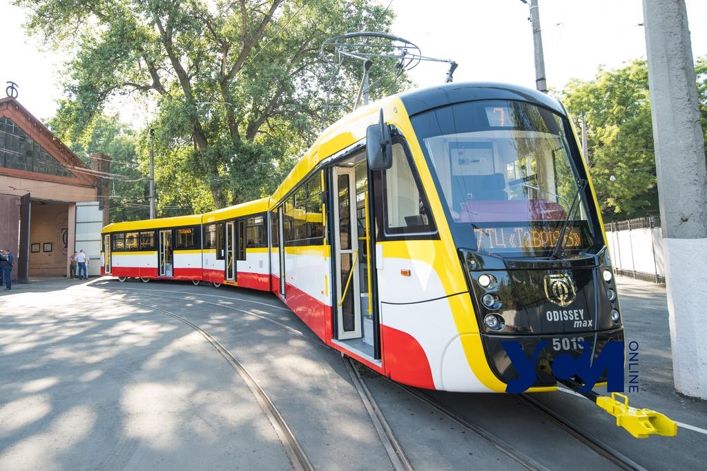 На 7-м трамвайном маршруте появится еще один Odissey Max «фото»