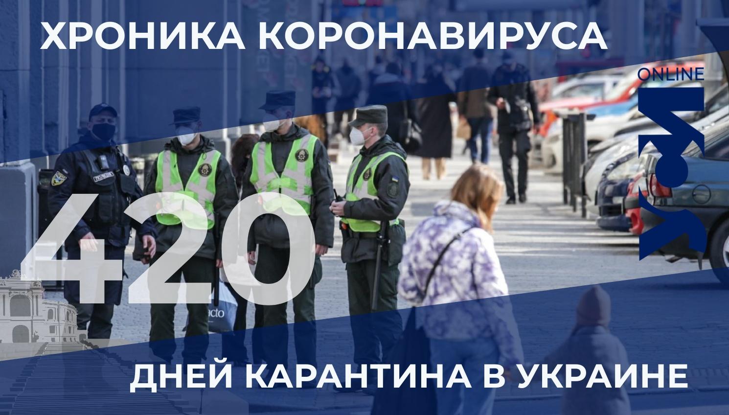 Хроника коронавируса: в Одесской области 216 новых заболевших «фото»