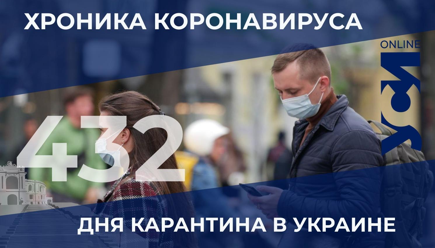 Хроника пандемии: в Одесской области снизился уровень заболеваемости «фото»