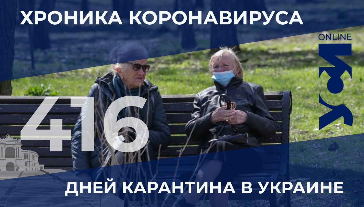 COVID-19: в Одесском регионе — 454 новых заболевших «фото»