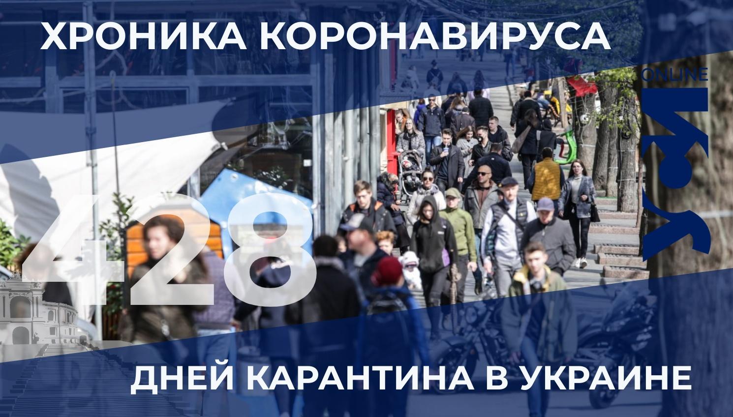 Пандемия: в Одесском регионе — 23 летальных случая за сутки «фото»
