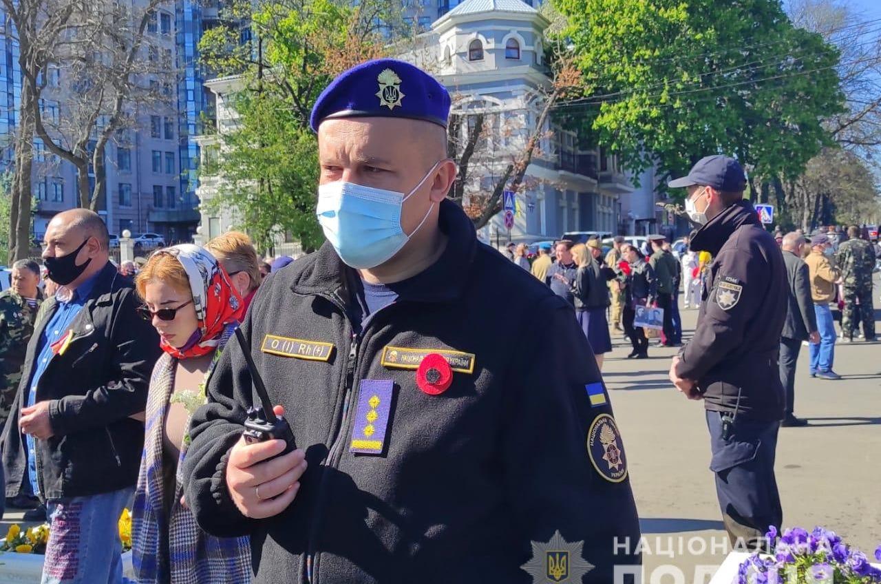 За порядком 9 мая в Одессе следят более тысячи правоохранителей (фото) «фото»