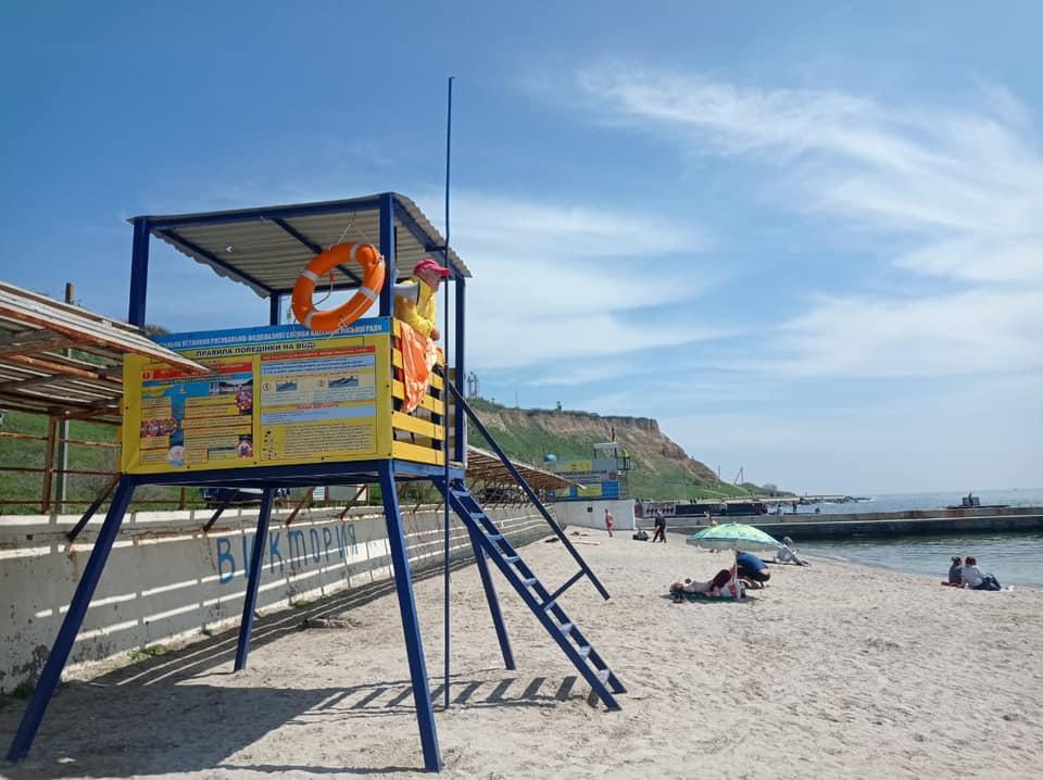 В Одессе начался курортный сезон: на пляжах дежурят почти сто спасателей (фото) «фото»