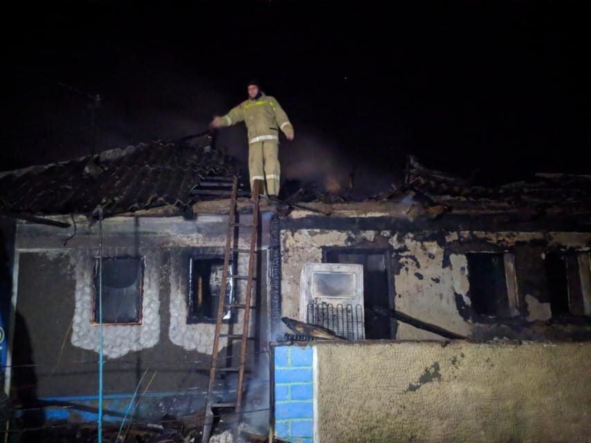 При пожаре в Одесской области пострадали двое детей «фото»