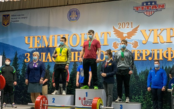 Атлет из Одесской области завоевал золото на Чемпионате Украины по пауэрлифтингу (фото) «фото»