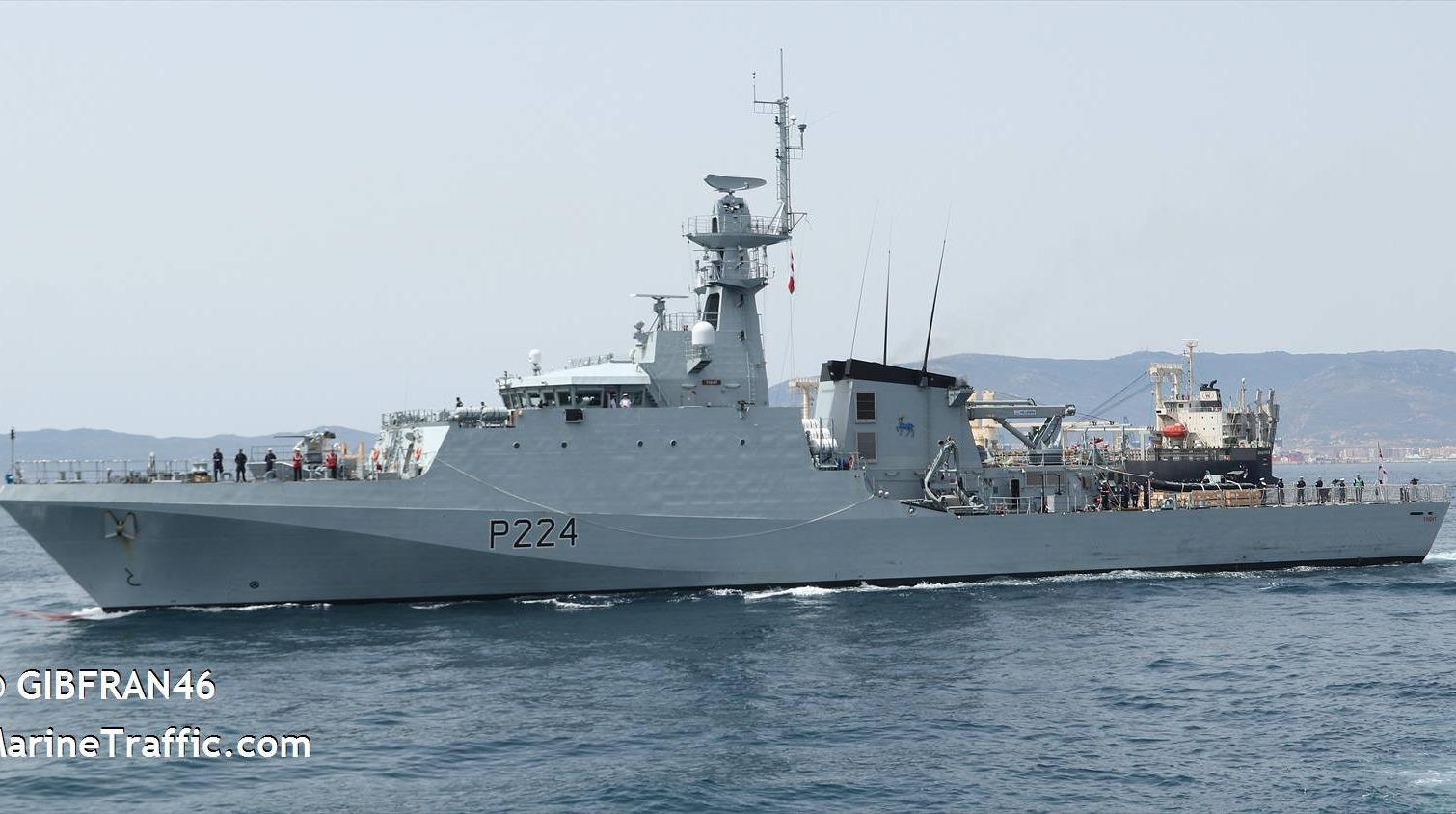 В Черное море зашел британский военный корабль «фото»