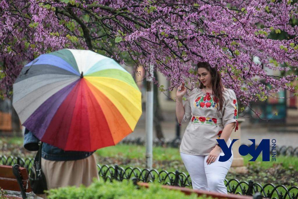 Трехдневная непогода в мае: как одесситы «выгуливали» зонтики (фото) «фото»