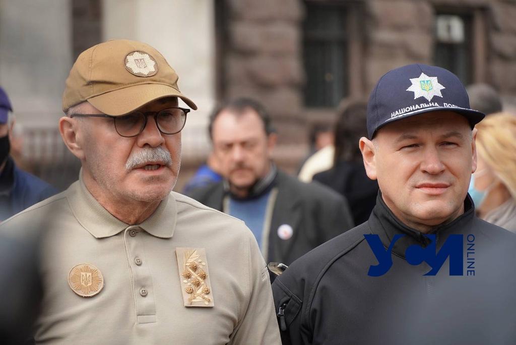 Полиция: памятные акции в Одессе прошли спокойно (фото, видео) «фото»