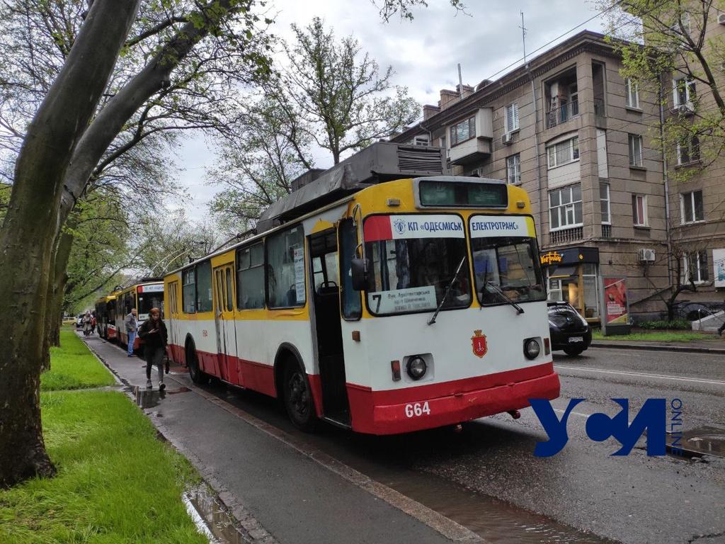 Большое отключение света: в Одессе не ходят трамваи и троллейбусы (фото, аудио) Обновлено «фото»