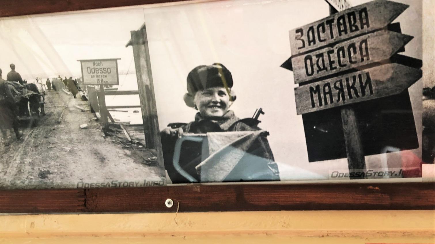 В одесском трамвае-галерее выставили новую экспозицию – о войне (фото) «фото»