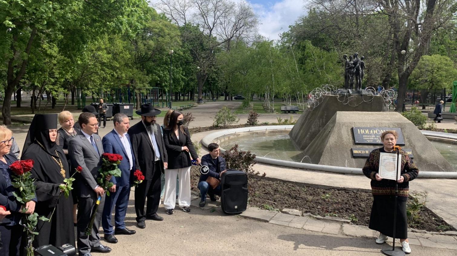 В Одессе почтили Праведников народов мира (фото) «фото»