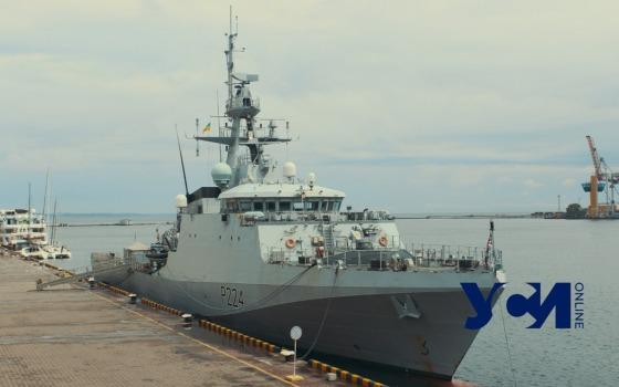 Новейший британский военный корабль зашел в Одесский порт (фото) «фото»