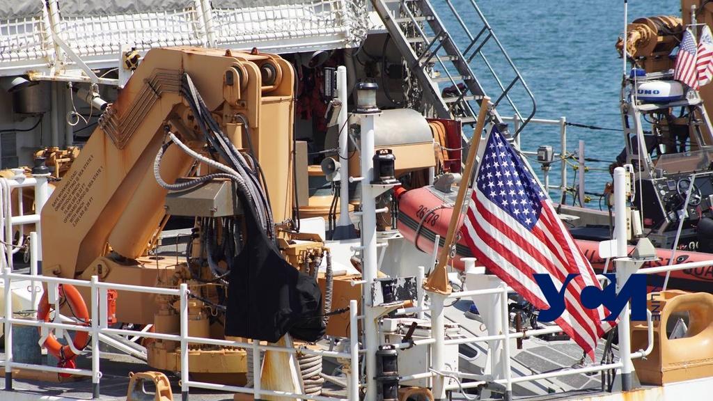 В Одесский порт зашел фрегат береговой охраны США (фото) «фото»