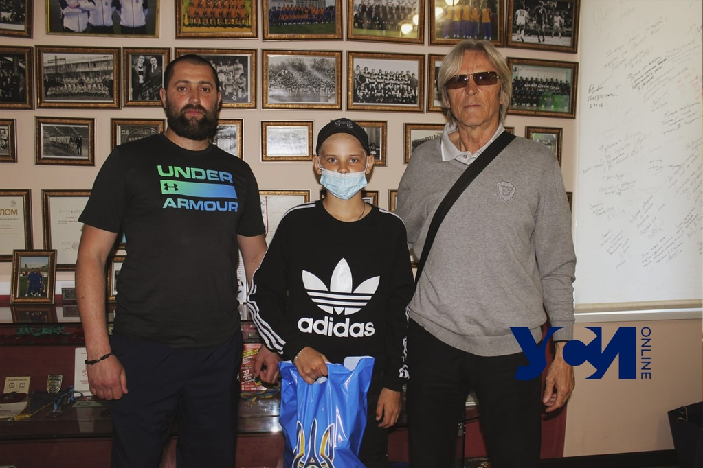 В поддержку футболиста из Измаила прошла акция: у юного спортсмена лейкоз (фото) «фото»