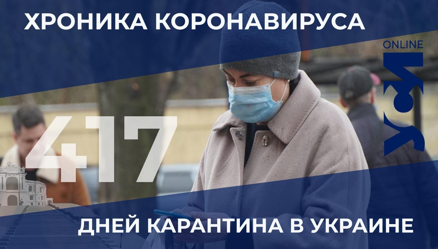 COVID-19: в Одесской области 296 новых заболевших «фото»