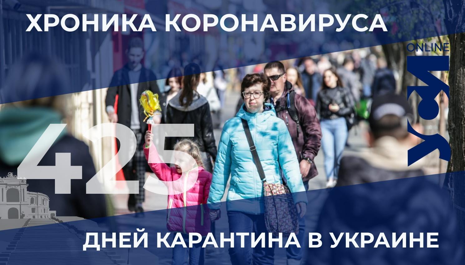 Хроника коронавируса: показатели заболеваемости в Одесской области заметно снизились «фото»