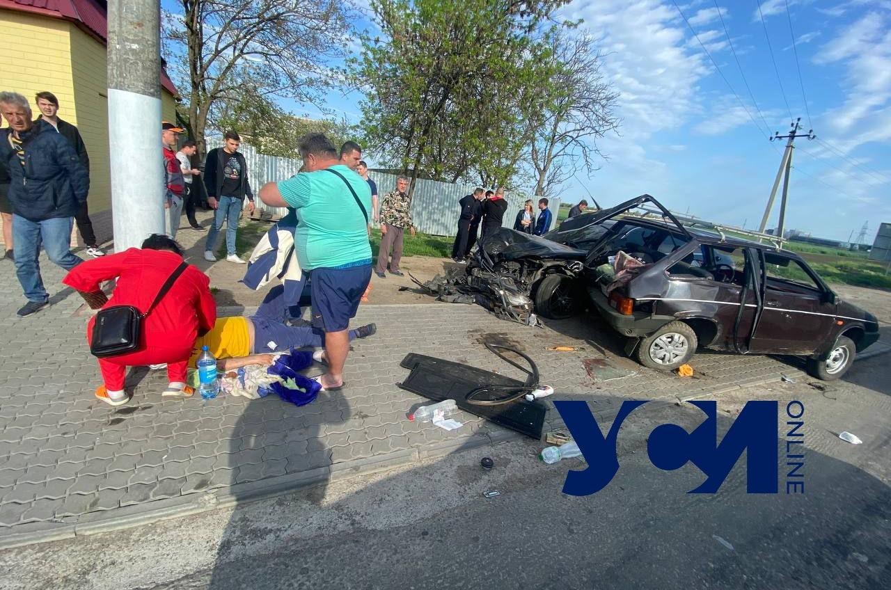 Массовая авария в Авангарде: есть пострадавшие (фото, видео) Обновлено «фото»