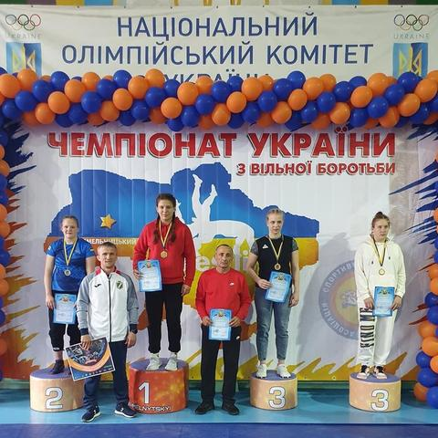 Спортсменка из Аккермана стала чемпионкойУкраины по вольной борьбе (фото) «фото»