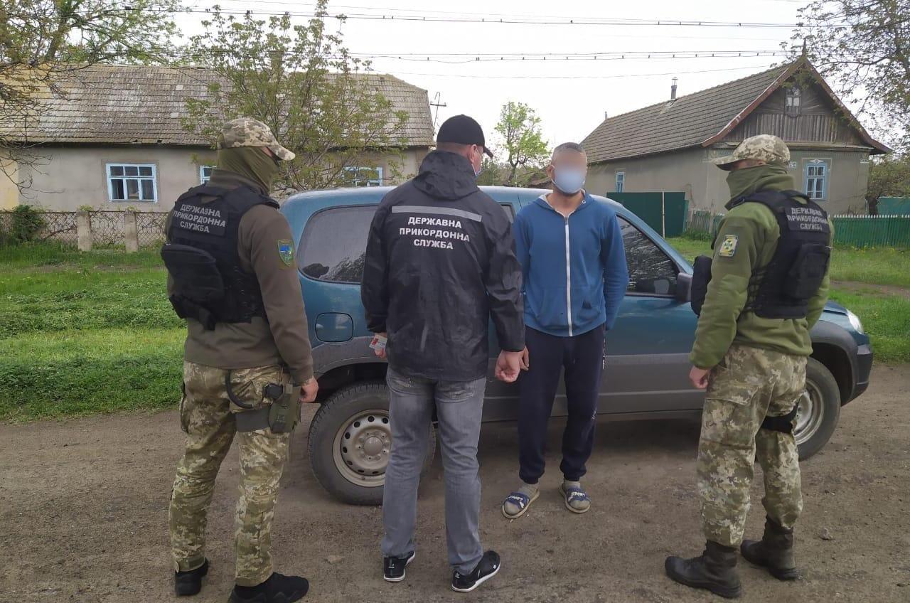 В Одесской области на границе задержали иностранца, которого разыскивал Интерпол (фото) «фото»