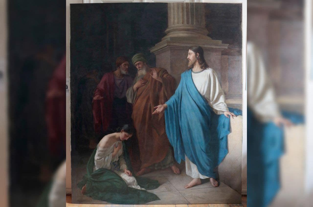 В одесском худмузее покажут картину, которую реставрировали 3 года (фото) «фото»