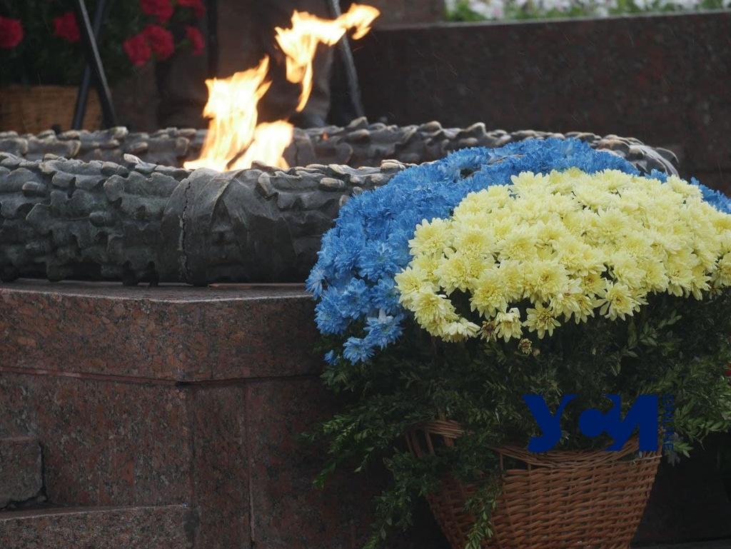 «Ніколи знову»: на Аллее Славы прошло возложение и выставка в честь Дня памяти (фото, аудио) «фото»