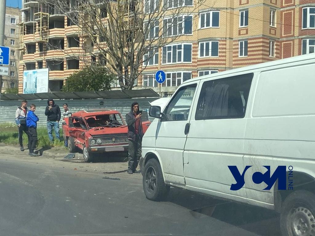 На Лузановке в ДТП пострадал мужчина (фото) «фото»
