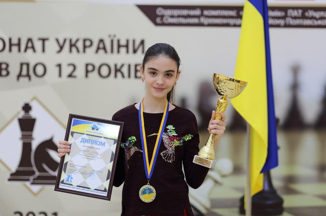 Юная чемпионка Украины по шахматам из Южного собирается на европейский чемпионат – нужна поддержка «фото»