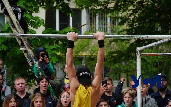 Спорт улиц: в Одессе проходит чемпионат области по Street Workout  (фото, аудио) «фото»