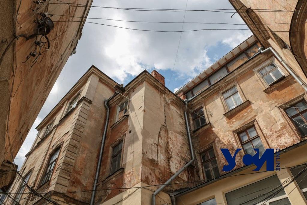Дом-памятник на Софиевской может «не дожить» до реставрации из-за незаконных строительных работ (фото, аудио) «фото»