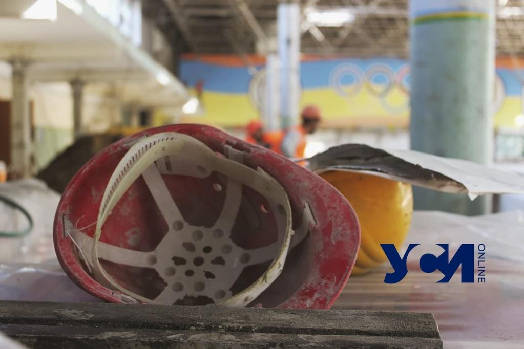 Ремонт Украинского театра и стадиона «Олимпиец» закончат ко Дню Независимости (фото) «фото»
