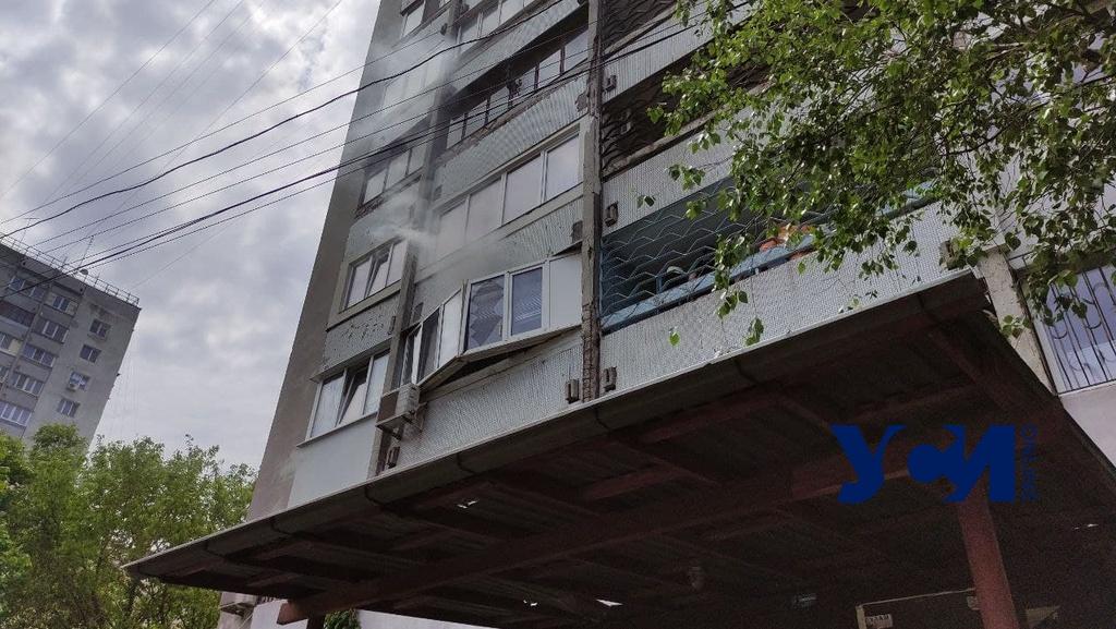 В жилом доме на Фонтанской дороге произошел взрыв (фото, аудио) «фото»