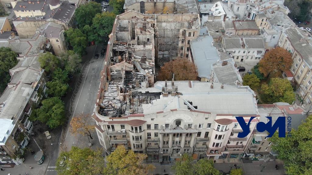 Из-за Академии наук тормозится восстановление сгоревшего колледжа на Троицкой «фото»