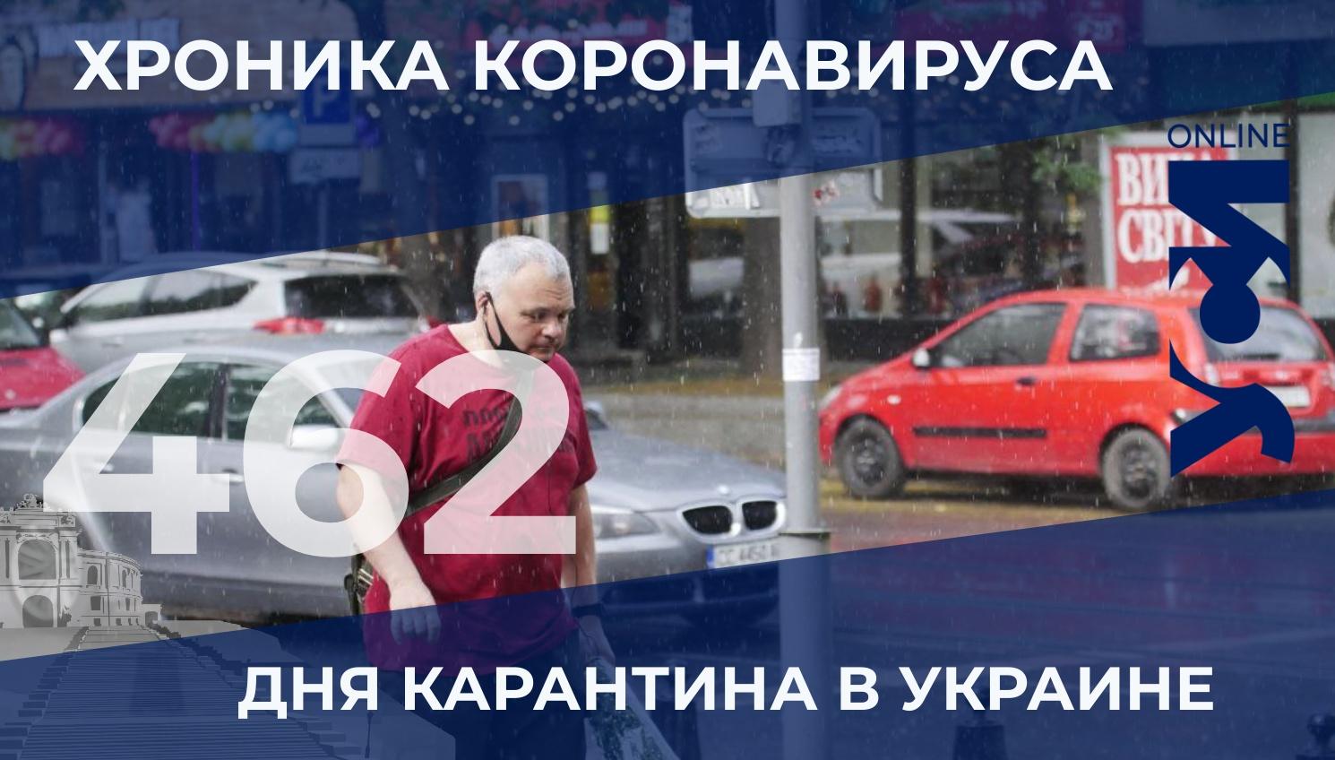 Хроника COVID-19: в Одесской области 10 летальных случаев «фото»