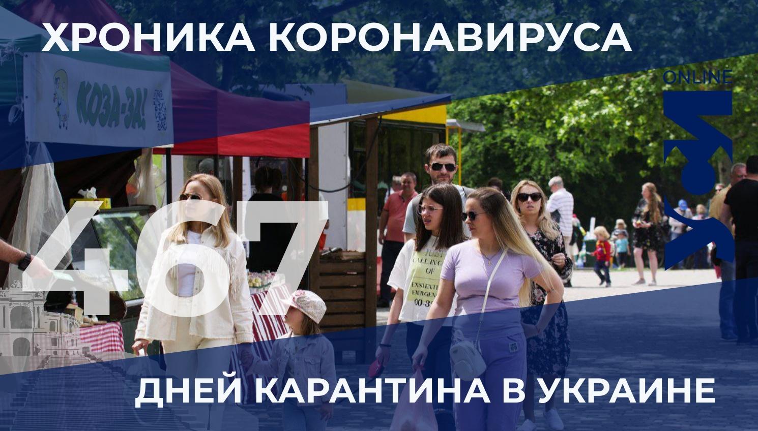Хроника коронавируса: в Одесской области — 12 новых заболевших и нет умерших «фото»