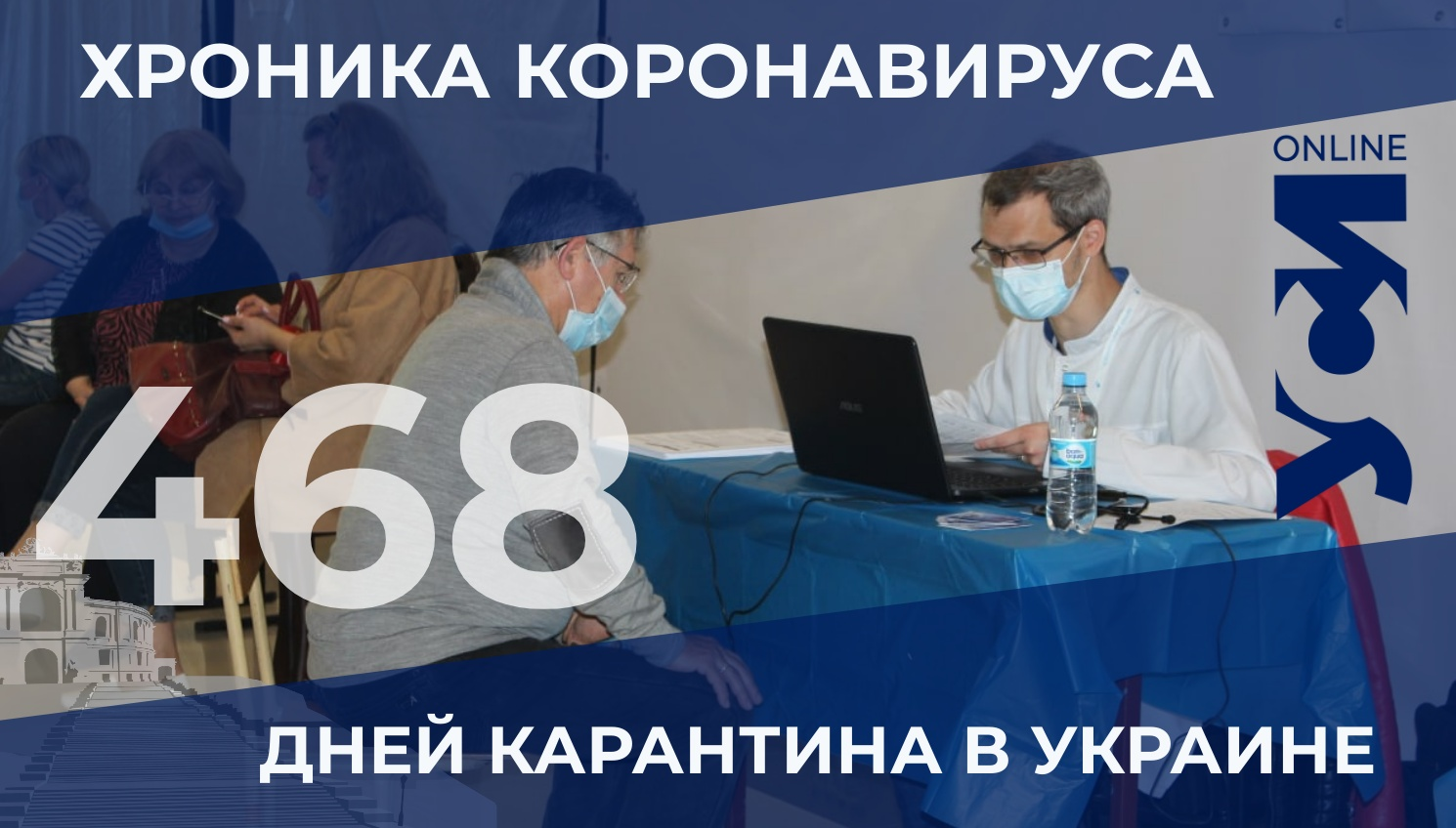 Хроника COVID-19: в Одесской области заболело 17 человек, двое умерли «фото»
